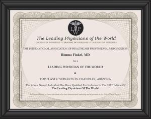 Top Plastic Surgeon Chandler AZ Rimma Finkel